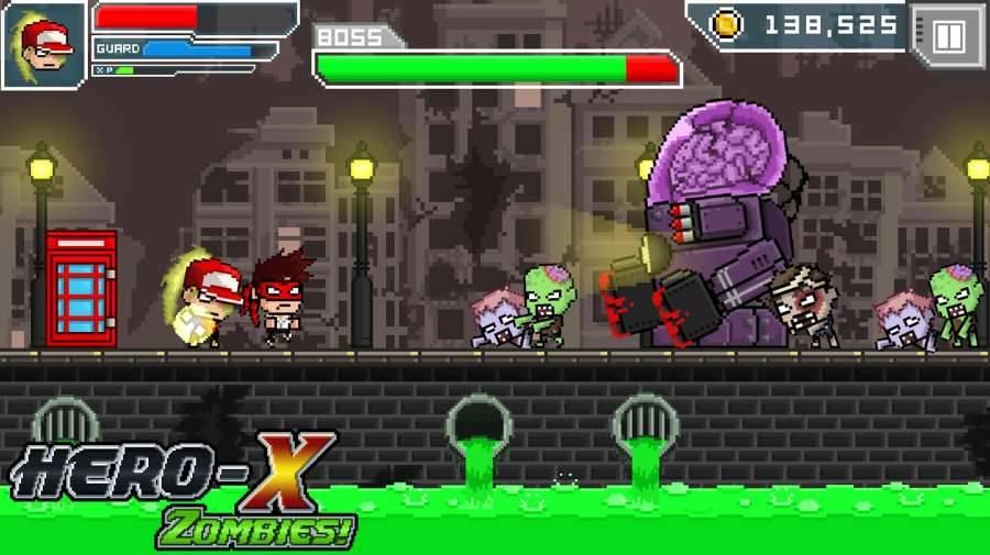 X英雄:丧尸截图1
