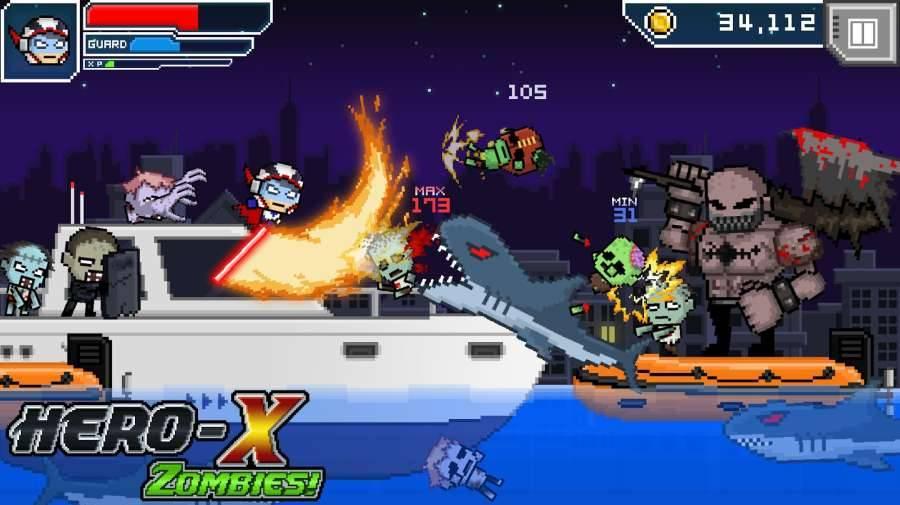 X英雄:丧尸截图2