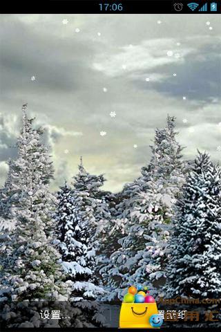 飘雪动态壁纸截图3