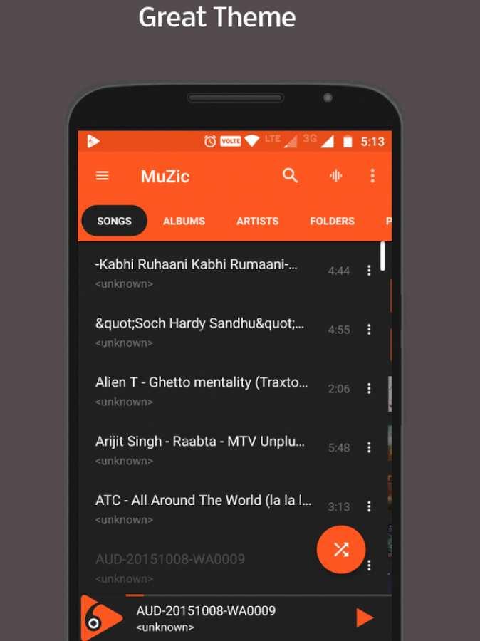 MuZic音乐播放器:MuZic截图2