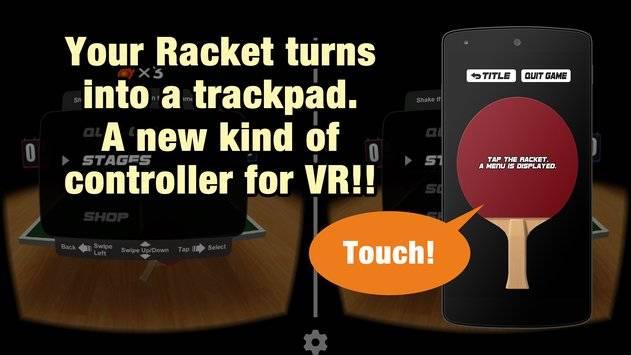 VR Swing Table Tennis Cardbd截图9