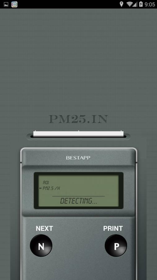 PM2.5 测量器截图1