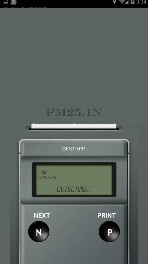 PM2.5 测量器截图2
