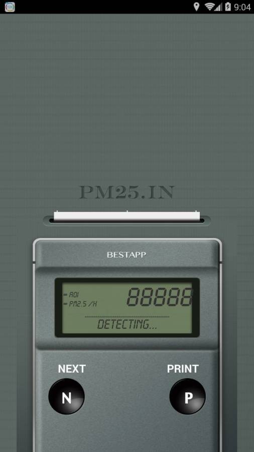 PM2.5 测量器截图3