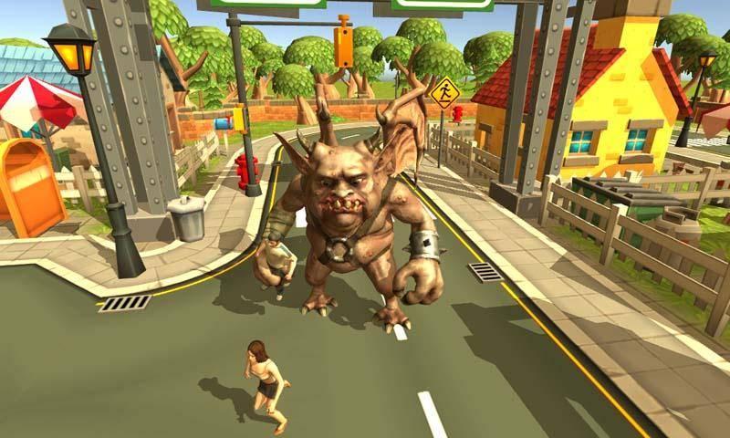 怪兽屠城模拟