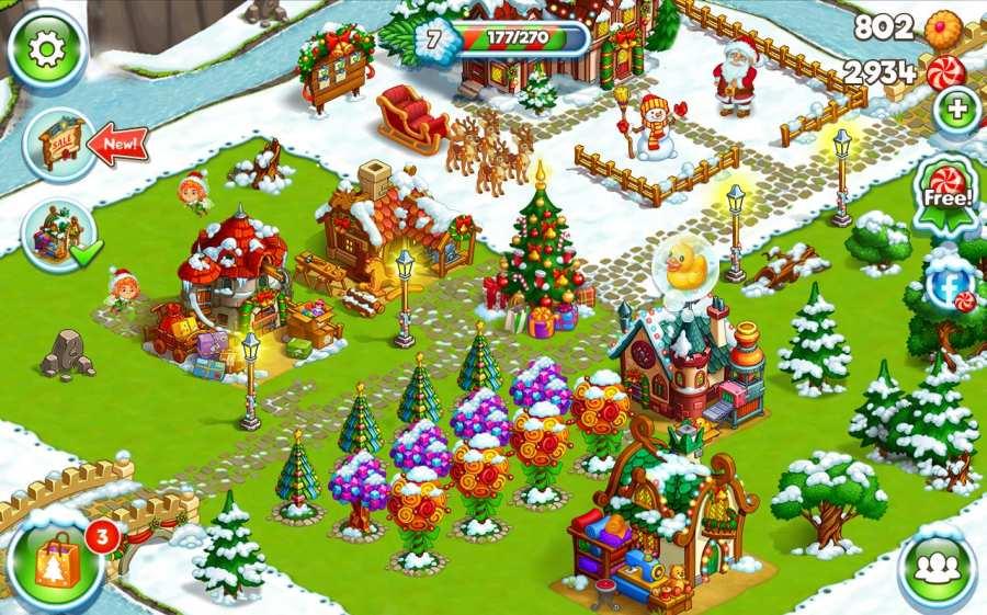 新年快乐农场:圣诞节截图3
