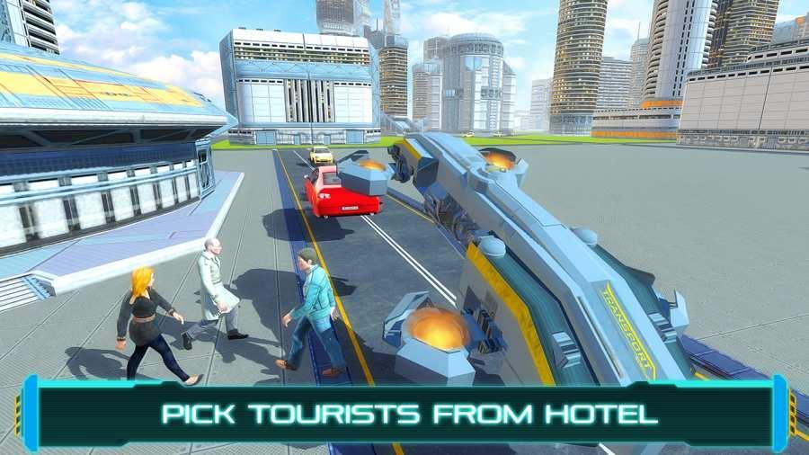 旅游未来派的飞行汽车截图3