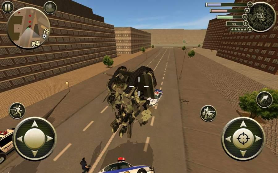 坦克机器人截图4