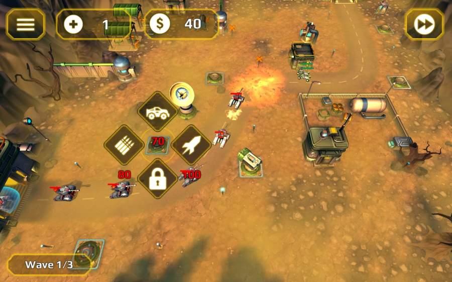 现代战争塔防截图2