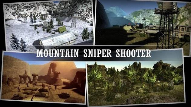 Mountain Sniper Shooting截图0