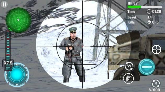 Mountain Sniper Shooting截图10