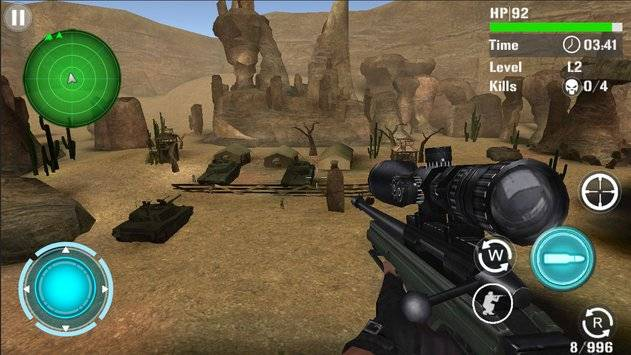 Mountain Sniper Shooting截图3