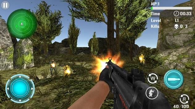 Mountain Sniper Shooting截图4