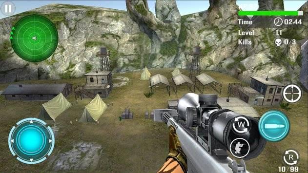 Mountain Sniper Shooting截图6