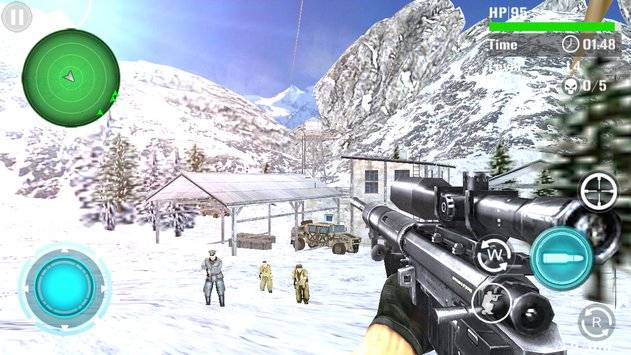 Mountain Sniper Shooting截图9