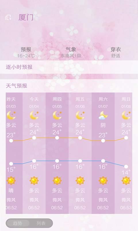 美人天气截图1