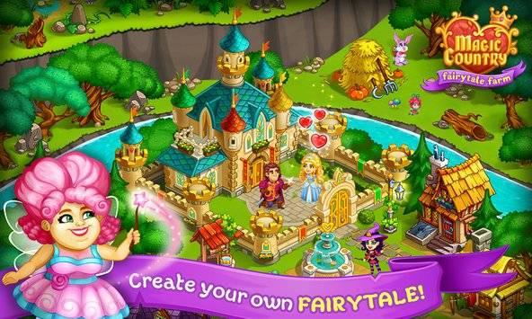 Magic Country: fairy city farm截图0