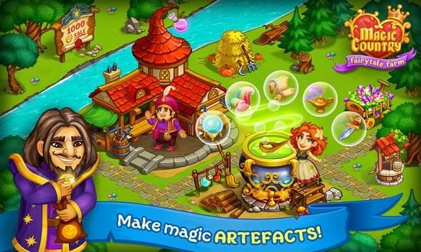 Magic Country: fairy city farm截图1