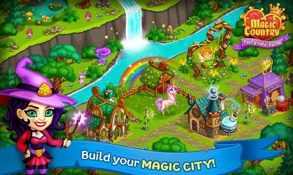 Magic Country: fairy city farm截图4