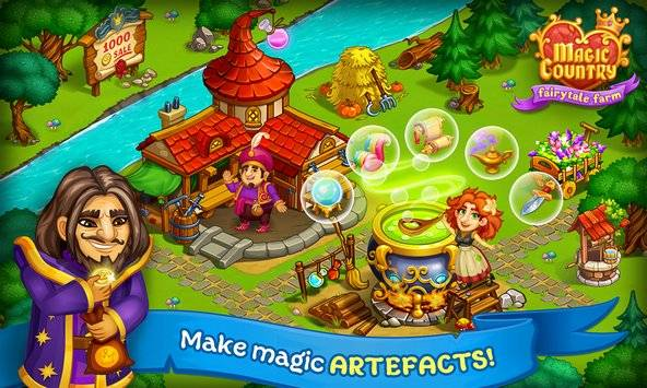 Magic Country: fairy city farm截图6
