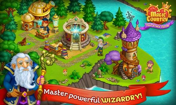 Magic Country: fairy city farm截图8