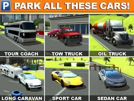 Gas Station Car Parking Game截图4
