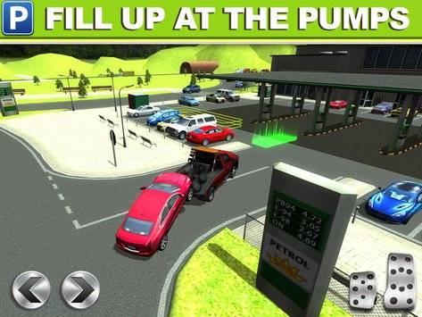 Gas Station Car Parking Game截图5