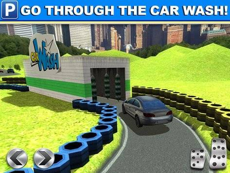 Gas Station Car Parking Game截图7
