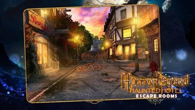 Escape Rooms - Haunted Hotel截图0