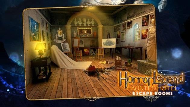 Escape Rooms - Haunted Hotel截图2