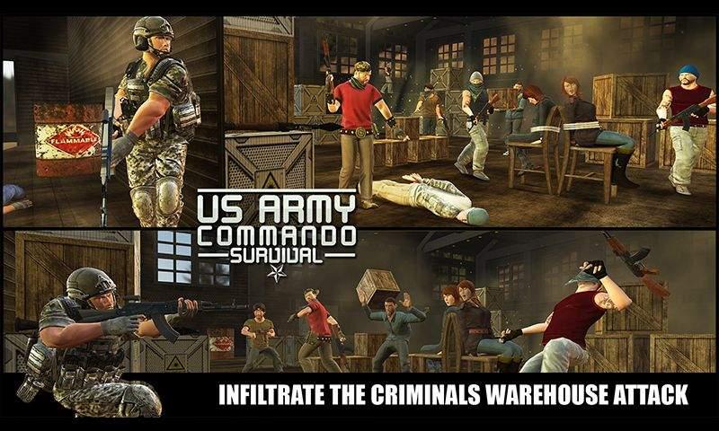 美国陆军突击队生存