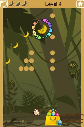 猴子吃香蕉 益智 App-癮科技App