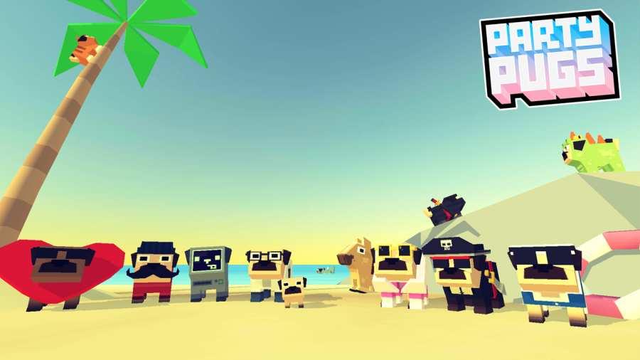 哈巴狗派对:海滩 截图1