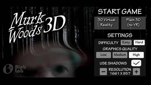 MurkWoods 3D HORROR截图0