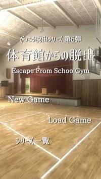 脱出ゲーム 体育館からの脱出【学校脱出シリーズ5弾】