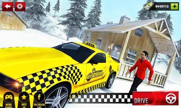 Taxi Driver Hill Station Sim截图0