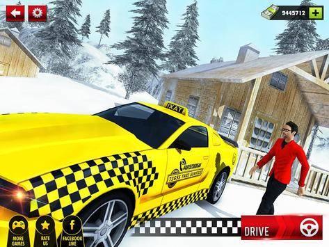 Taxi Driver Hill Station Sim截图10