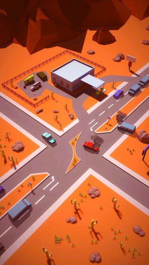 撞车路口截图1