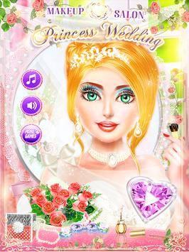 MakeUp Salon Princess Wedding截图0