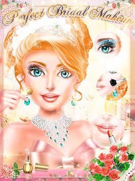 MakeUp Salon Princess Wedding截图8