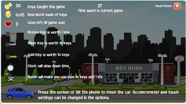 Key Rush截图1