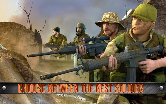 Army Commando Shooting Strike截图0