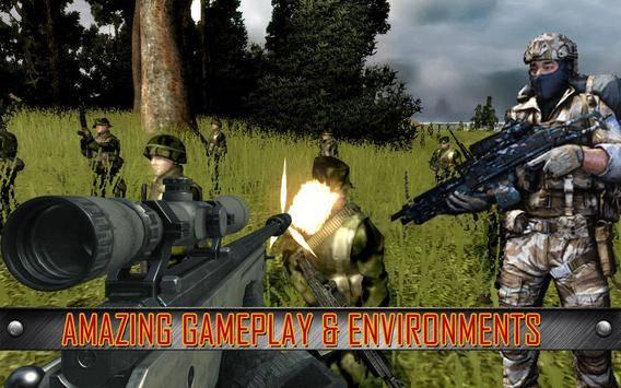 Army Commando Shooting Strike截图10