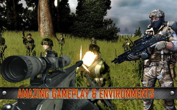 Army Commando Shooting Strike截图2