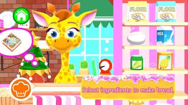 皮卡布面包店:烹饪游戏截图0