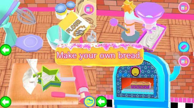 皮卡布面包店:烹饪游戏截图2