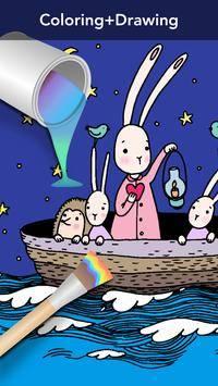 Girls Coloring Book截图3