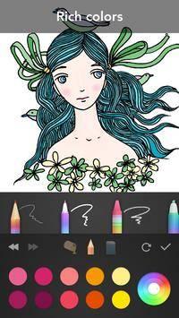 Girls Coloring Book截图5