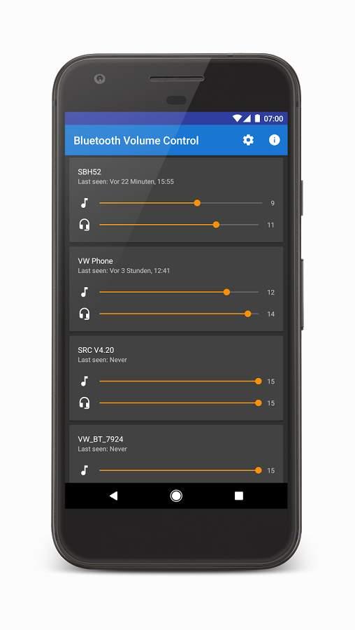 蓝牙音量控制:Bluetooth