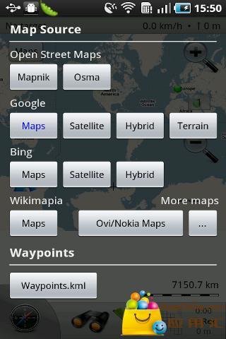 荒野地图截图1